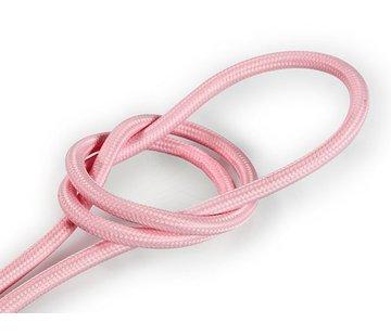 Kynda Light Fabric Cord Pale Pink - round, solid