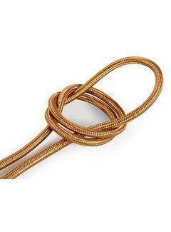 Kynda Light Fabric Cord Copper - round, solid