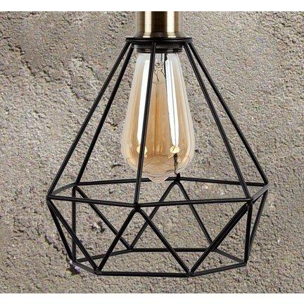 Lampenkappen, maak je lamp af met een metalen kooi of glazen pot