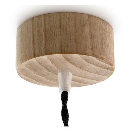 Plafondkappen van metaal en hout