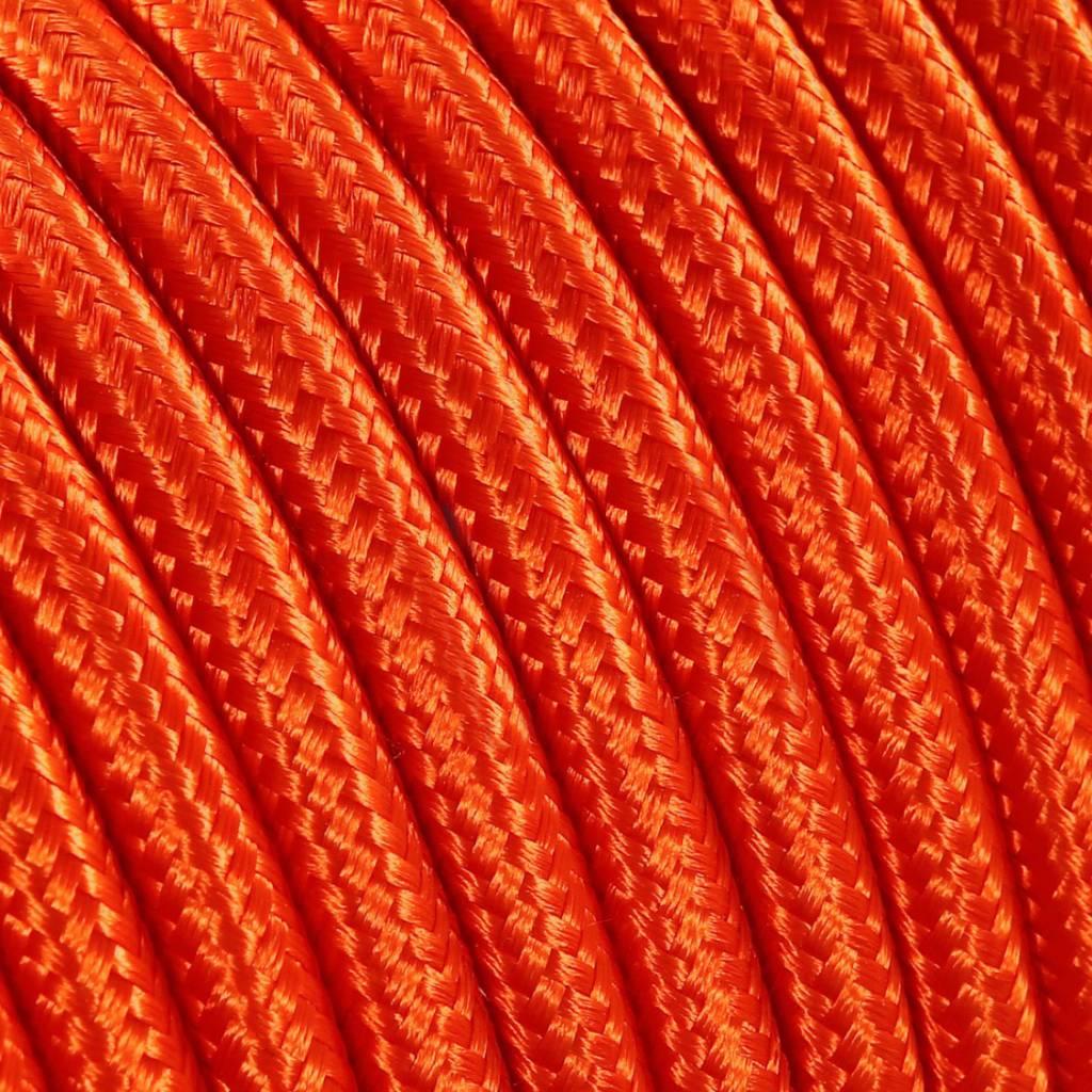 Goede Strijkijzersnoer Oranje - rond, effen stof - Kynda Light MF-94