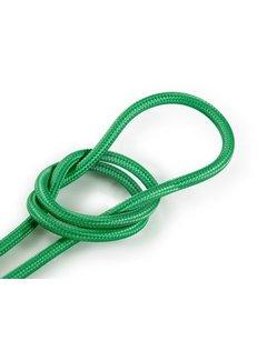 Kynda Light Fabric Cord Green - round, solid