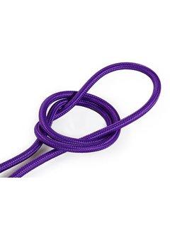 Kynda Light Fabric Cord Purple - round, solid