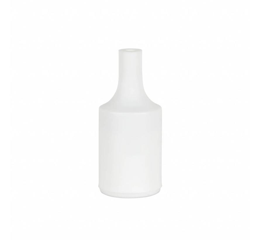 Fassung 'Kare' Silikon Weiß - E27