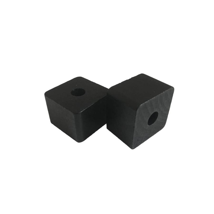 Kraal hout zwart rechthoek klein-2