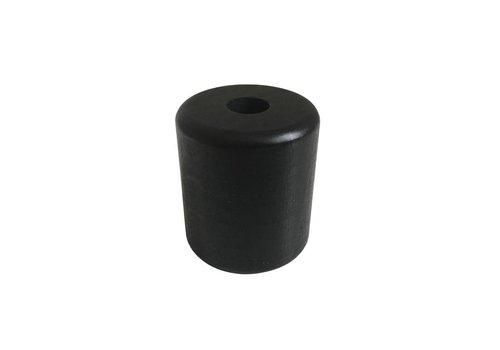 Kraal hout zwart cilinder groot