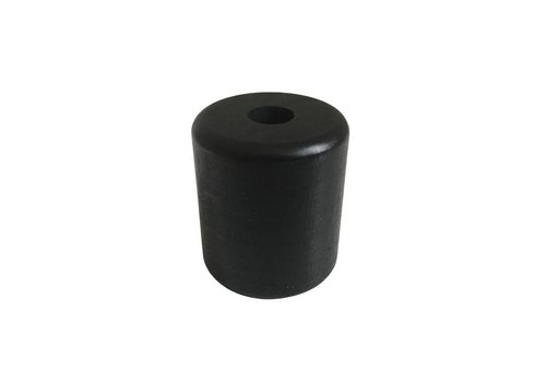 Pearl wood black cylinder big