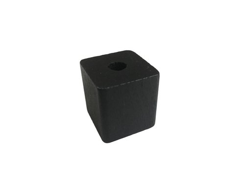 Pearl wood black rectangle big