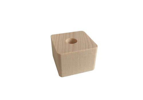 Kraal hout naturel rechthoek klein