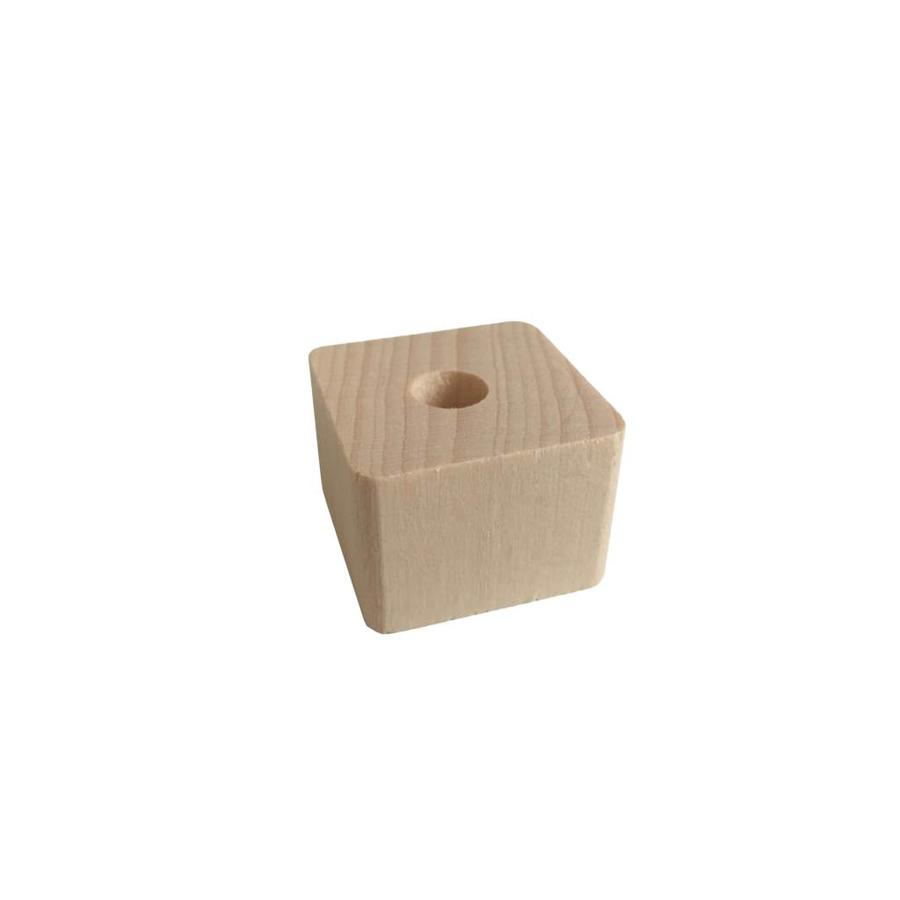 Pearl wood natural triangle small-1
