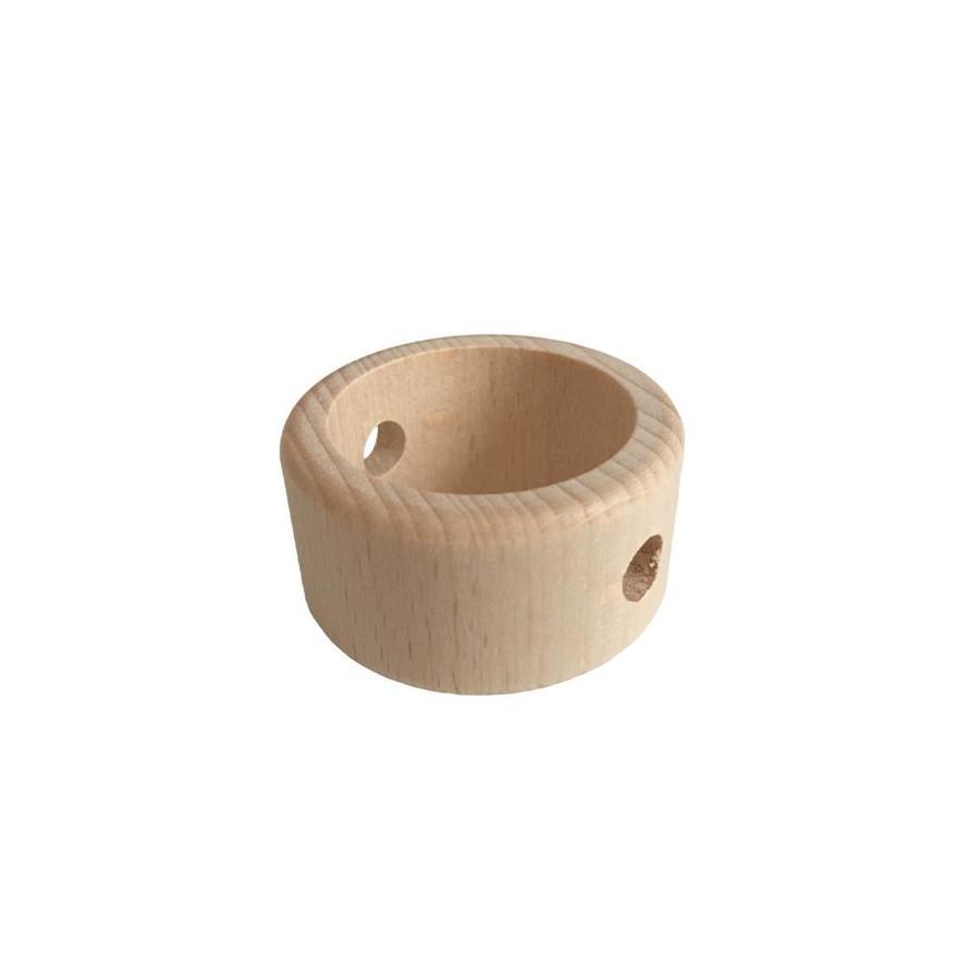 Kraal hout naturel ring-1