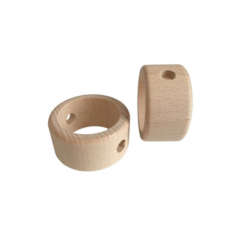 Kraal hout naturel ring-2