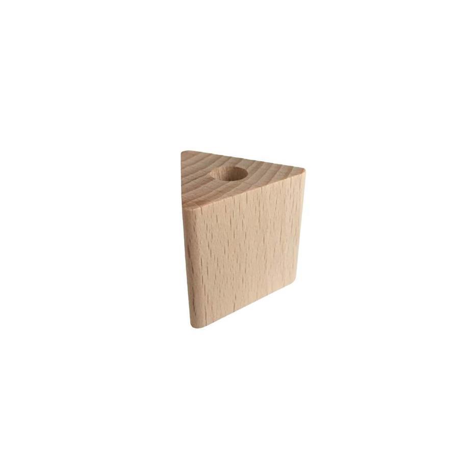 Kraal hout naturel driehoek groot-1