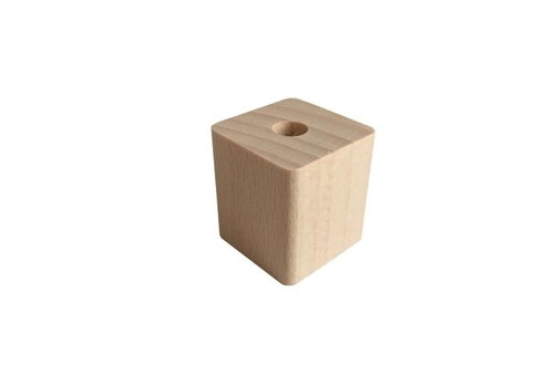 Kraal hout naturel rechthoek groot