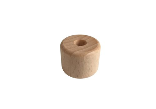 Pearl wood natural cylinder small