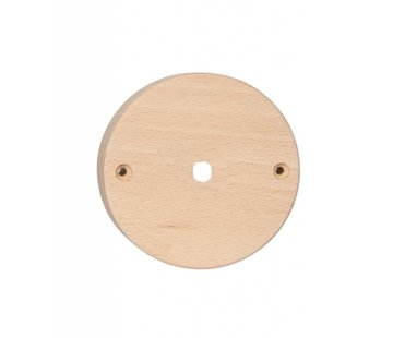 Kynda Light Plafondkap 'Woody' rond hout