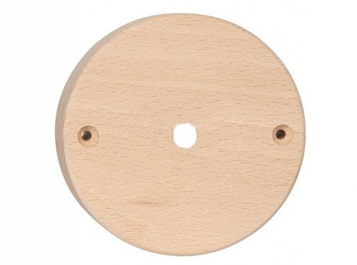 Kynda Light Wooden Ceiling Rose 'Woody' Round