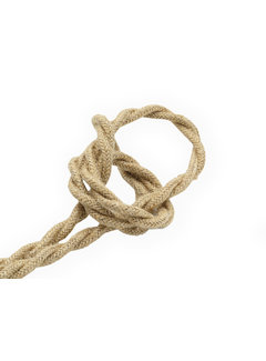 Kynda Light Fabric Cord Jute - twisted, raw yarn