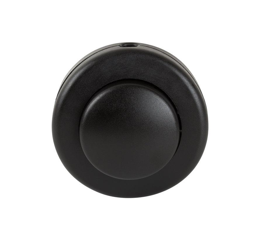 Fußschalter Schwarz | 2-polig