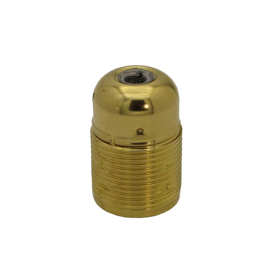 Metal Lamp Holder 'Viggo' Gold E27