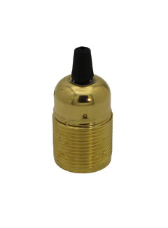 Kynda Light Metal Lamp Holder 'Viggo' Gold