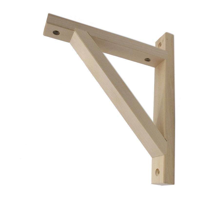 Wooden wall holder