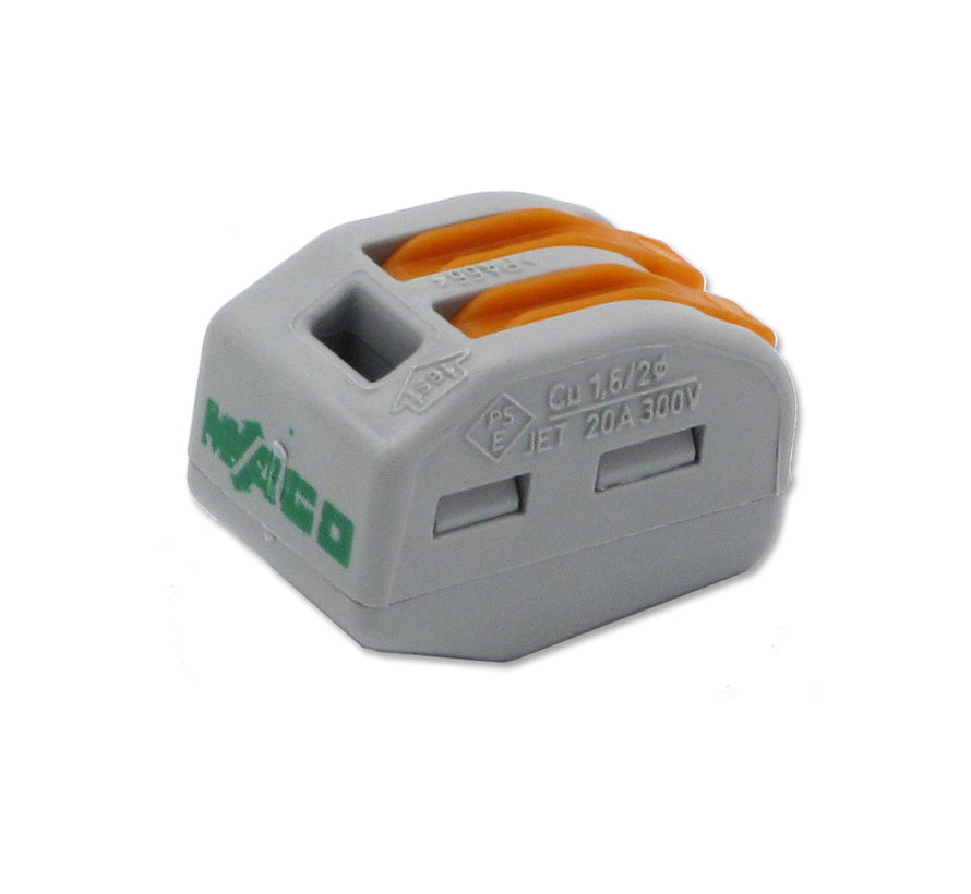 Wago connector 2-pole  / 2-way