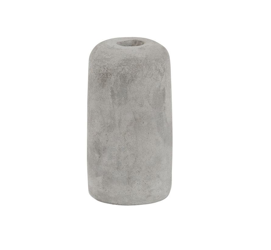 Concrete lamp holder 'Ove' E27