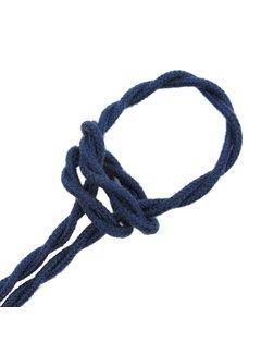 Kynda Light Strijkijzersnoer Donkerblauw Jeans - gedraaid, linnen