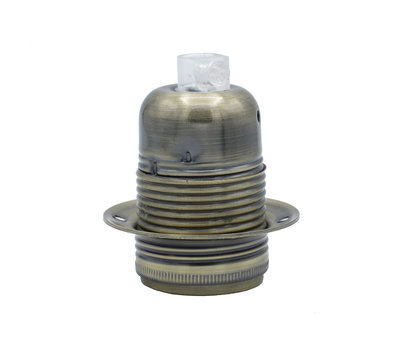 Kynda Light Lampenschirm industriell 'Hafthor' metall Weiß - E27