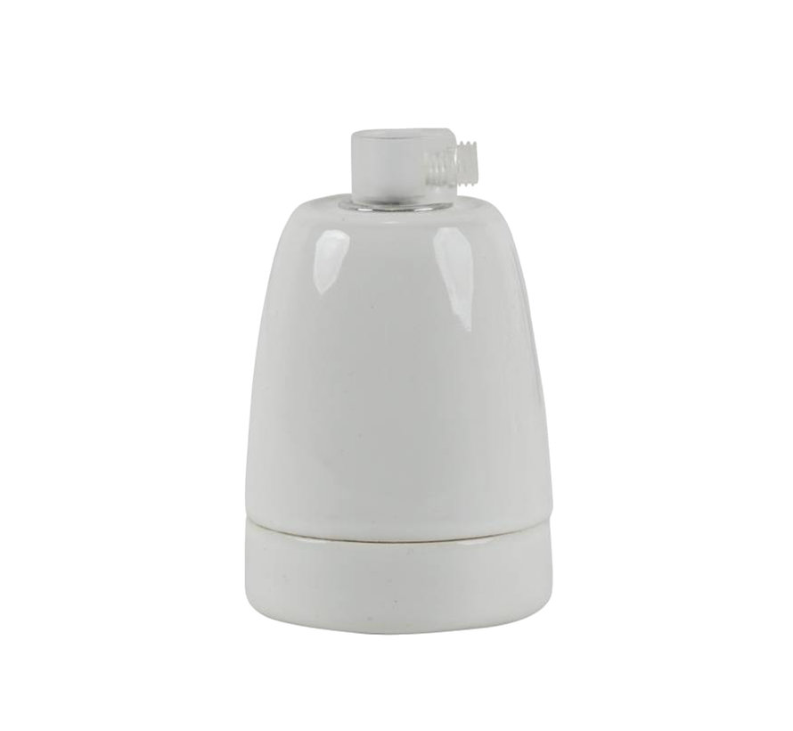 Fassung 'Loki' Porzellan Weiß - E27