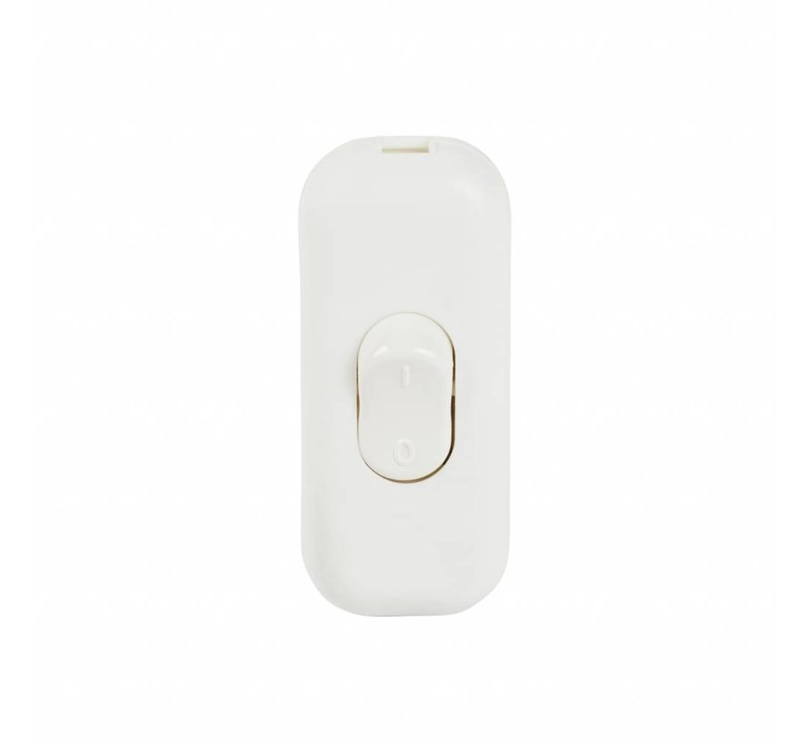 Cord switch white