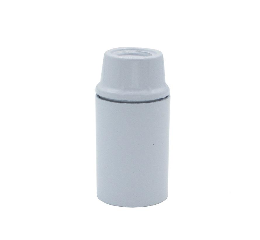 Bakelitfassung mit Glattmantel | Weiß E14