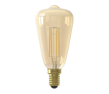 Calex Gold LED light bulb - Full Glass Rustik ST48 - 4W E14