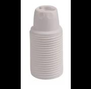 Kynda Light Kunststoff Fassung mit Außengewinde Weiß - E14