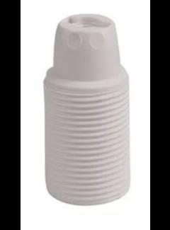 Kynda Light Kunststoff Fassung mit Außengewinde | Weiß E14