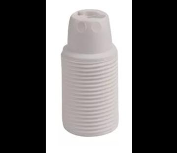 Kynda Light Kunststof E14 fitting met buitendraad - Wit