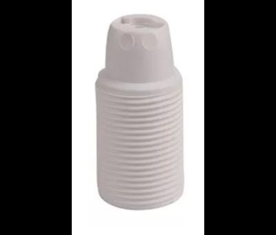 Kynda Light Kunststoff Fassung mit Außengewinde   Weiß E14