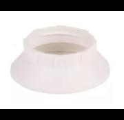 Kynda Light Kunststoff Schraubring / Stellring E14 | Weiß Ø44mm