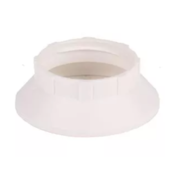 Kynda Light Plastic ring E14 for lamp holder with external thread - ⌀44mm - White