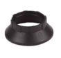 Plastic ring E14 for lamp holder with external thread - ⌀44mm - Black