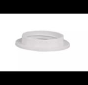 Kynda Light Kunststoff Schraubring / Stellring zur Montage Fassung E27 mit Außengewinde | Weiß Ø57mm