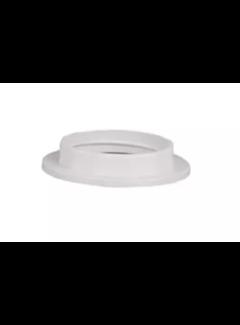 Kynda Light Plastic ring E27 for lamp holder with external thread - ⌀57mm - White