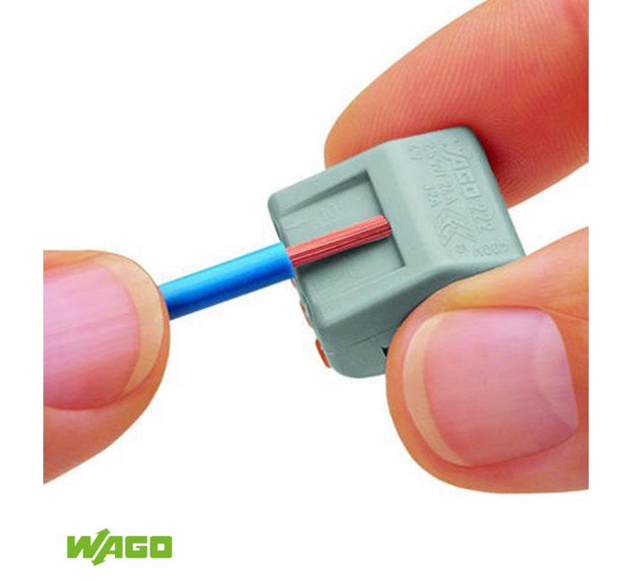 Wago connector 2-pole  / 2-way