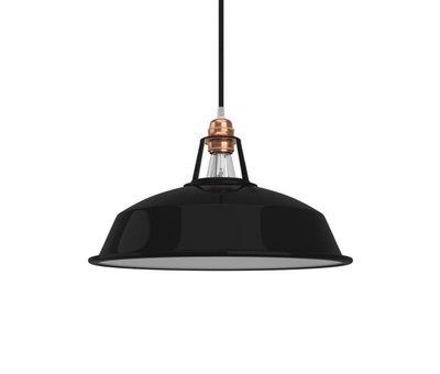 Kynda Light Lampenkap industrial 'Hafthor' metaal Zwart - E27