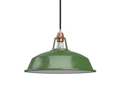 Kynda Light Lampenschirm  industriell 'Hafthor' Metall Grün