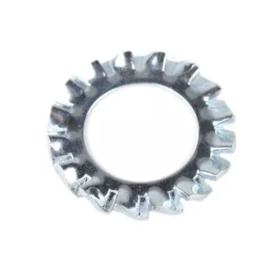 Zahnscheibe / Fächerscheibe für Nuss oder Gewindestange M10