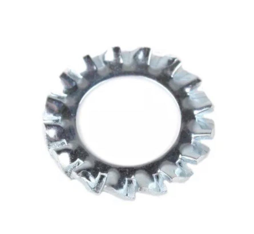 Zahnscheibe / Spannfeder für Nuss oder Gewindestange M10