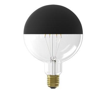 Calex LED lamp Kopspiegel G125 Globelamp Zwart