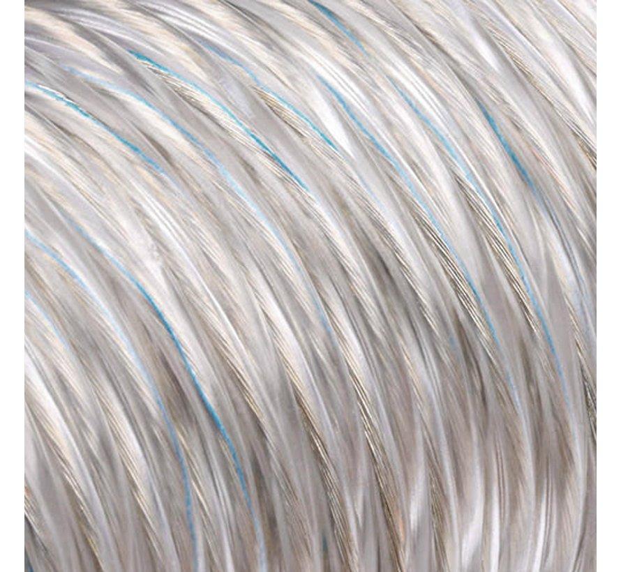 Strijkijzersnoer Kunststof PVC Transparant - rond